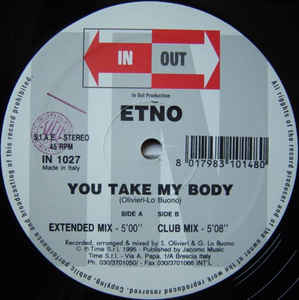 Etno (2) - You Take My Body