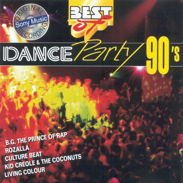 Various - Best Of Dance Party 90's cover of release