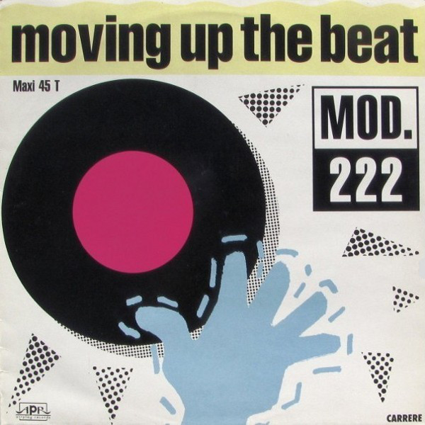 Mod 222 - Moving Up The Beat cover of release