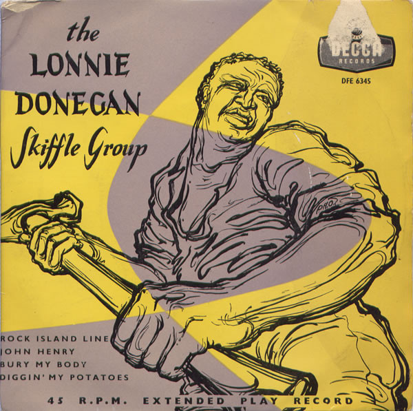 Lonnie Donegan's Skiffle Group - The Lonnie Donegan Skiffle Group EP cover of release