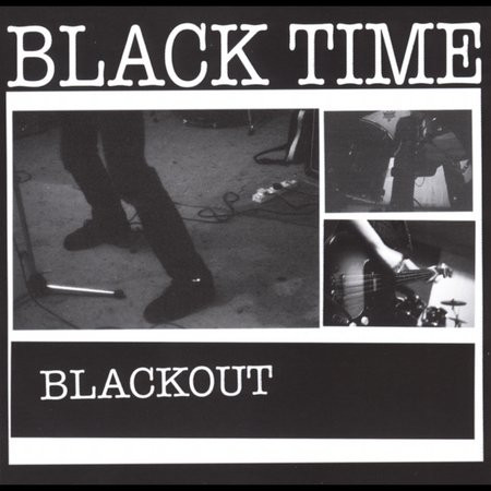 Black Time - Blackout cover of release