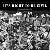 Marc Mac - It's Right To Be Civil cover of release