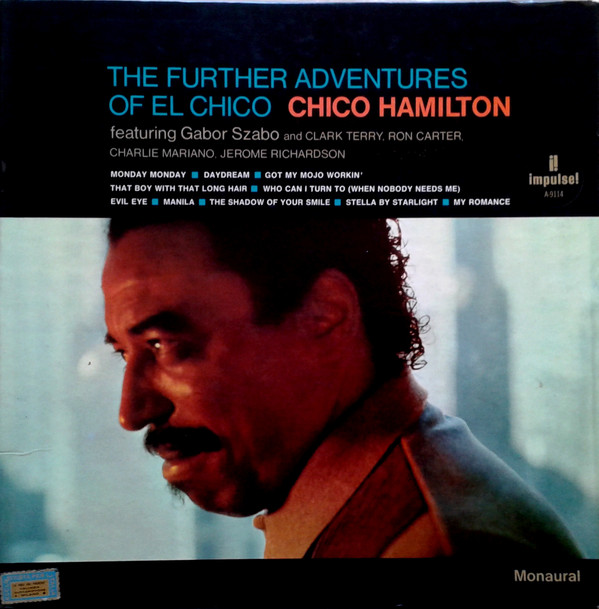 Chico Hamilton - The Further Adventures Of El Chico cover of release