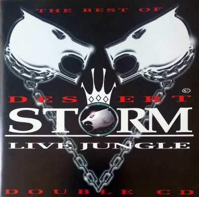 Various - The Best Of Desert Storm Live Jungle cover of release