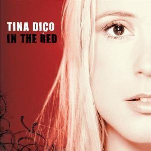 Tina Dickow - In The Red cover of release
