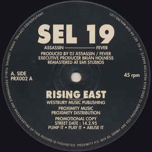 Sel 19 - Rising East / Arms House