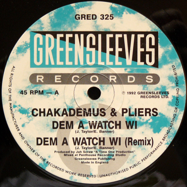 Chaka Demus & Pliers - Dem A Watch Wi cover of release