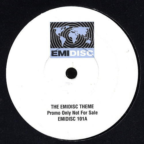 Saint Etienne, Mike Vickers - The EMIDISC Theme / On The Brink cover of release