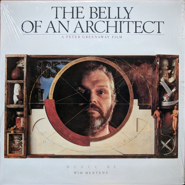 Wim Mertens - The Belly Of An Architect cover of release