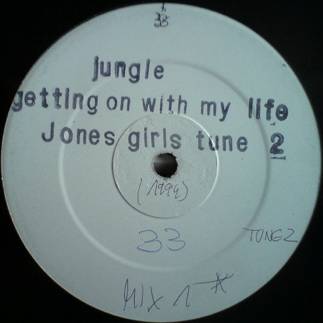 Jones Girls, The - Gettin On With Jungle cover of release