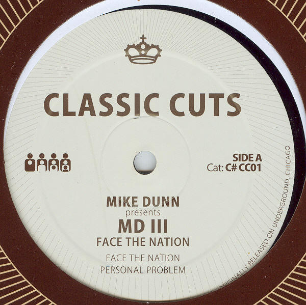 Mike Dunn, MD III - Face The Nation cover of release