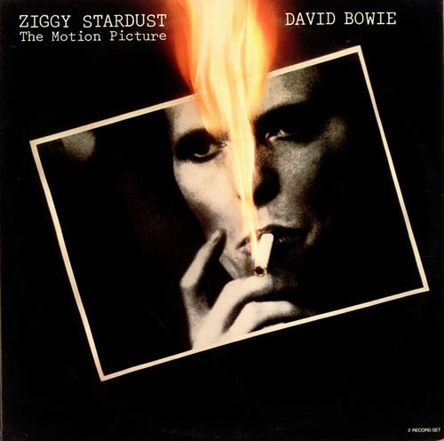 David Bowie - Ziggy Stardust - The Motion Picture cover of release