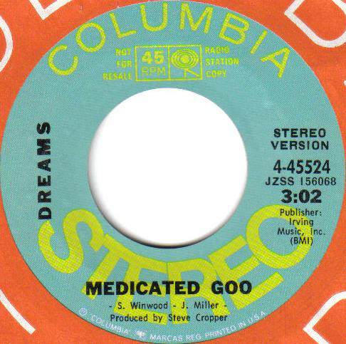 Dreams (4) - Medicated Goo cover of release
