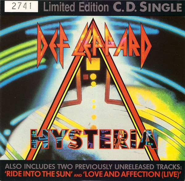 Def Leppard - Hysteria cover of release
