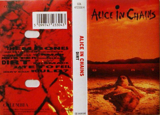 Alice In Chains - Dirt cover of release