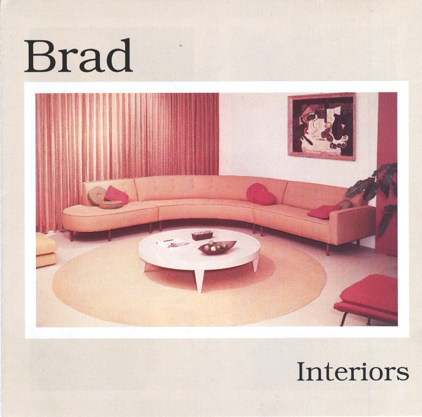 Brad - Interiors cover of release