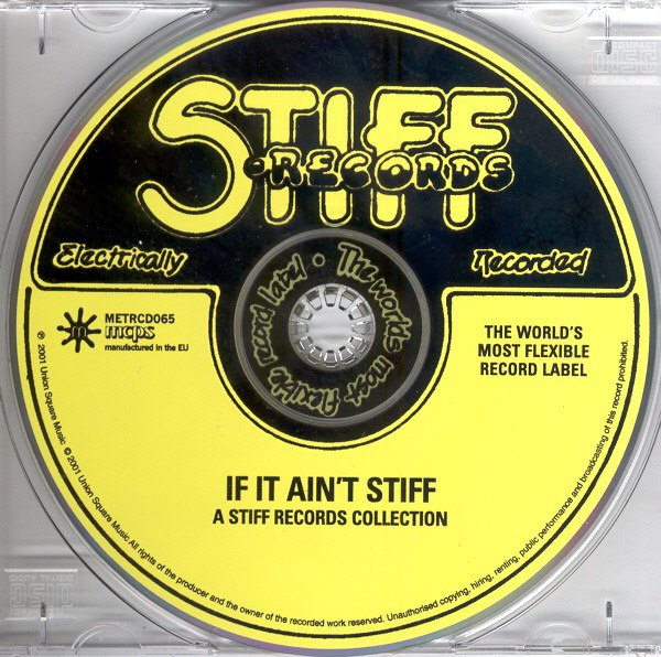 Various - If It Ain't Stiff... (A Stiff Records Collection) cover of release