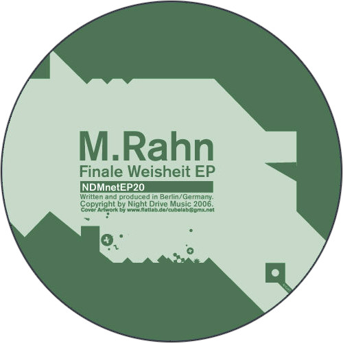 M. Rahn - Finale Weisheit EP cover of release