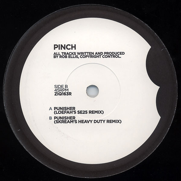 Pinch (2) - Punisher (Remixes) cover of release