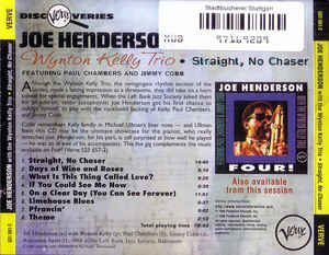 Joe Henderson - Straight, No Chaser