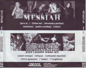 Coming Of The New Messiah - Split CD