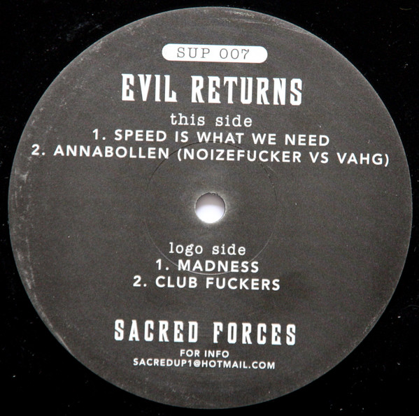 Various - Evil Returns cover of release