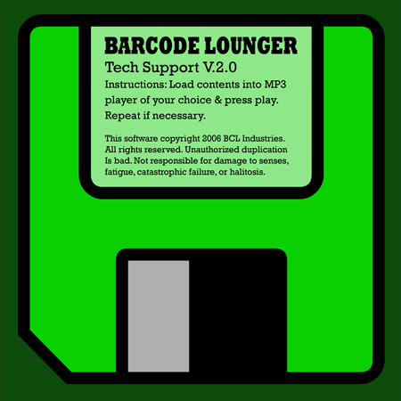 Barcode Lounger - Tech Support cover of release