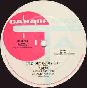 Adeva - In & Out Of My Life