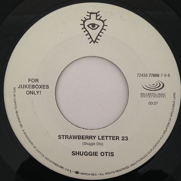 Shuggie Otis - Aht Uh Mi Hed / Strawberry Letter 23 cover of release