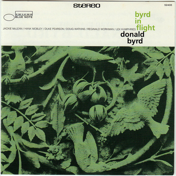 Donald Byrd - Byrd In Flight cover of release