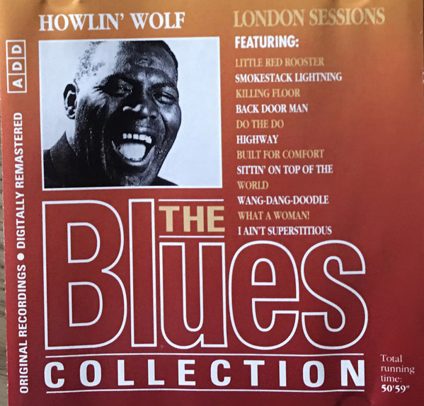 Howlin' Wolf - London Sessions cover of release