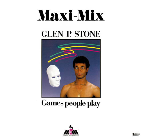 Glen P. Stone - Games People Play (Maxi-Mix) cover of release