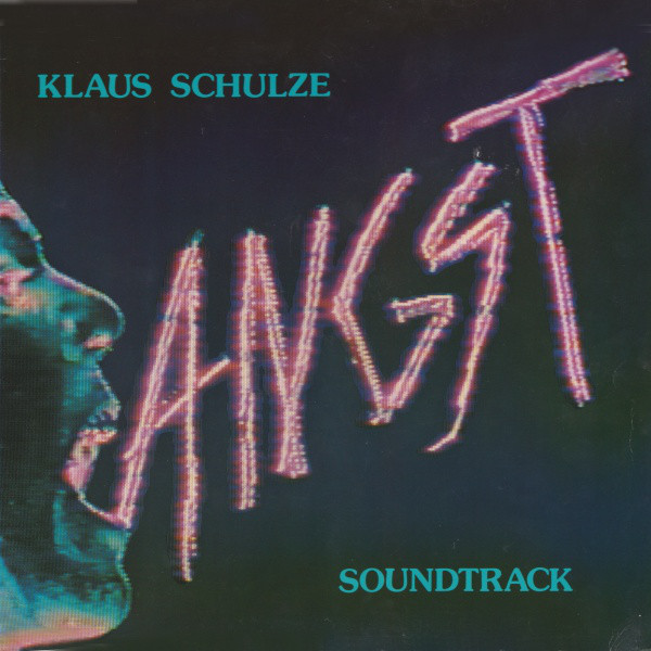 Klaus Schulze - Angst cover of release